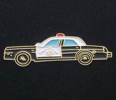 Police Car Hat Pin #GE61628