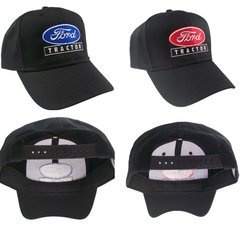 Ford Tractor Farm Embroidered Cap Hat #40-8200 Choose blue or red logo