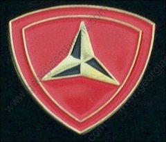 3rd Marine Division USMC Pin #GE62272