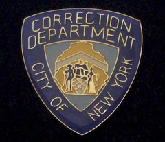 City of New York Correction Department Hat Pin #GE02897