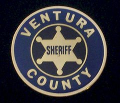 Vertura County Sheriff's Departmnet Hat Pin #GE02763