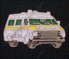 Ambulance Yellow Trim Hat Pin #GE05375Y