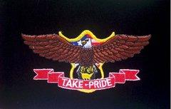 Take Pride Patriotic Patch #GE3054