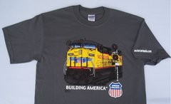 Union Pacific Building America T-Shirt **DISCONTINUED