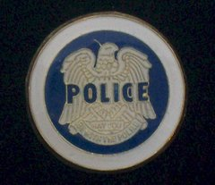 Secret Police Hat Pin #GE66223