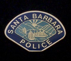 Santa Barbara Police Department Hat Pin #GE02803