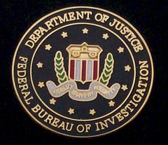 Department of Justice FBI Hat Pin #GE14197