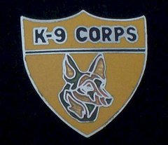 K-9 Corps Police Hat Pin #GE14709A