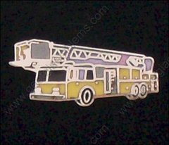 Fire Department 1500 GPM Truck Hat Pin #GE05369