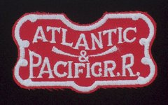Atlantic & Pacific Railroad Patch #14-1015