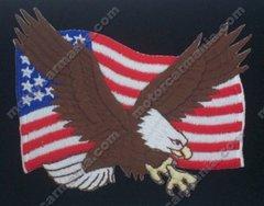 American Eagle Flag Patriotic Patch #34-0000