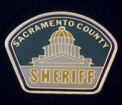 Sacramento County Sheriff's Department Hat Pin #GE02787