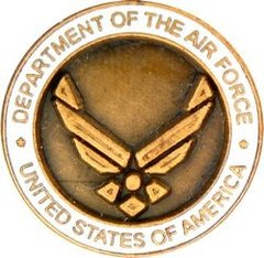 Department of the Air Force Pin #92-14498