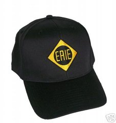 Erie Railroad Embroidered Cap Hat #20-0078