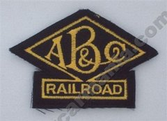 Atlanta Birmingham & Coast ABC Railroad Patch #14-1012