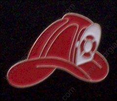 Fireman's Helmet Fire Department Hat Pin #GE00531