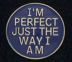 I'm Perfect Just The Way I Am Pin #GE66141