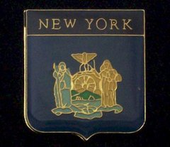 New York Police Department Hat Pin #GE63835