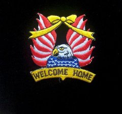 Welcome Home Patriotic Patch #GE0413