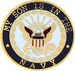 My Son Is In The Navy USN Hat Pin #91-15987
