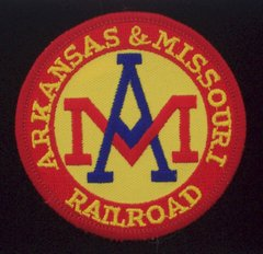 Arkansas & Missouri Railroad Patch #14-1008