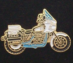 Police Motorcycle Hat Pin #GE63500