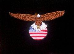 American Eagle Flag Patriotic Patch #GE0805