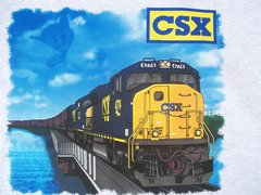 CSX Chessie Lives SD70ACe Railroad T-Shirt **DISCONTINUED