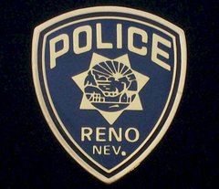 Reno Nevada Police Department Hat Pin #GE02871