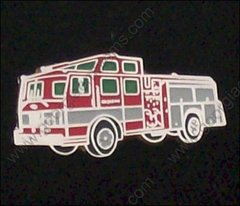 Fire Department Fire Truck 1500 GPM Hat Pin #GE02336