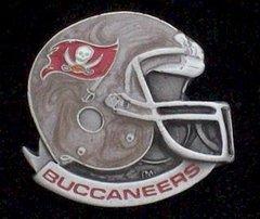Tampa Bay Buccaneers NFL Pewter Helmet Pin