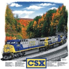 CSX AC6000 Fall Colors Railroad T-Shirt **DISCONTINUED