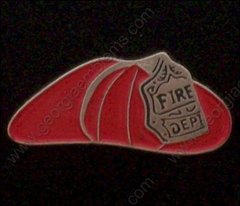 Fireman's Hat Fire Department Hat Pin #GE05245