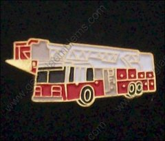 Fire Department Fire Truck 1500 GPM Hat Pin #GE05370