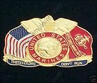 These Colors Don't Run U. S. Marine Pin #GE15661