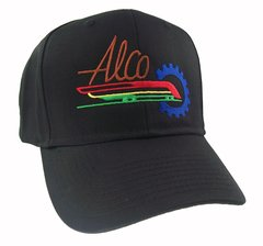 Alco American Locomotive Railroad Embroidered Cap Hat #40-6201