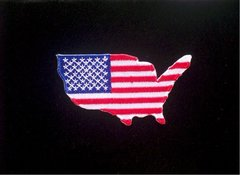 United States of America American Flag Patch #GE0368