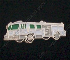 Fire Department Fire Truck 1000 GPM Hat Pin #GE02337