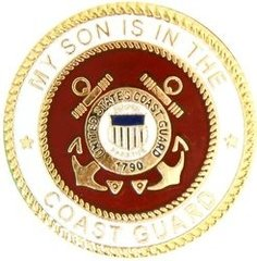 My Son Is In The Coast Guard USCG Hat Pin #94-15989