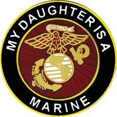 My Daughter Is A Marine U S Marine Corps Pin #93-15352