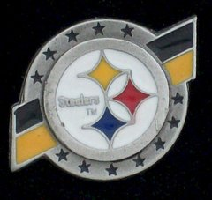 Pittsburgh Steelers Pewter NFL Team Logo Pin