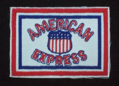 American Express Railway 1915 Patch #14-0927