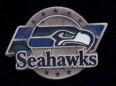 Seattle Seahawks Pewter NFL Team Logo Pin