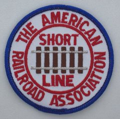 American Short Line Railroad Association Patch #14-0925