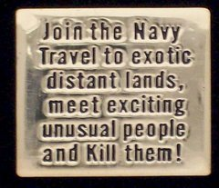 Join The United States Navy Pin #GE62523