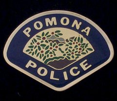 Pomona Police Department Hat Pin #GE02802