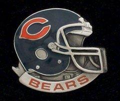 Chicago Bears NFL Pewter Helmet Pin