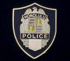 Honolulu Hawaii Police Department Hat Pin #GE02773