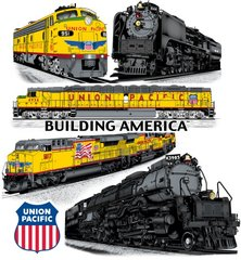 Union Pacific Railroad Lives T-Shirt **DISCONTINUED