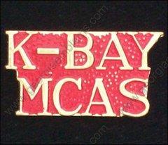 K-Bay MCAS Marine Corps Air Station USMC Pin #GE15400